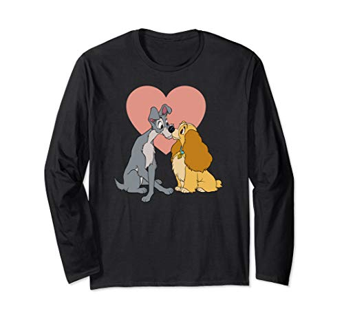 Disney Lady and the Tramp Lover Long Sleeve T-Shirt