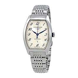 Longines Evidenza Automatic Silver Dial Ladies Watch L23424736