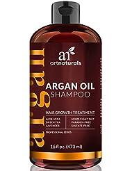 Art Naturals Organic Argan Oil Hair Loss Shampoo for...