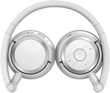 Kwmen Auricular inalámbrico Bluetooth Headset Bluetooth Universal del Deporte del Casco (Rot)