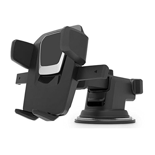Car Phone Mount, Washable Strong Sticky Gel Pad with Adjustable Design Dashboard Car Phone Holder for Every Cell Phone by KoccErigd