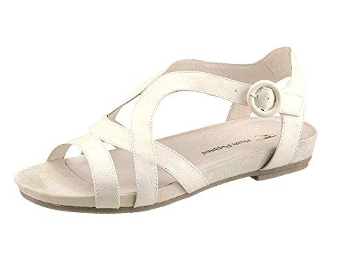 Sandalia Mujer Ancho F de Hush Puppies en color Beige Blanco - blanco