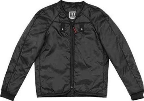 Spidi Sport S.R.L. Thermo Jacket Liner , Gender: Mens/Unisex, Primary Color: Black, Size: 3XL, Distinct Name: Black, Apparel Material: Textile L30-026-3X by Spidi (Image #2)