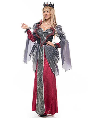 Charades Women's Renaissance Lady Costume, As Shown, Medium]()