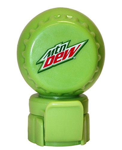 Mountain Dew Modern Logo Fizz Keeper Soda Bottle Pump and Pour Cap