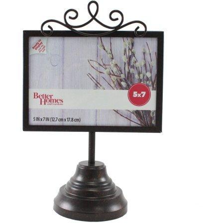 Amazon.com - Better Homes and Gardens Pedestal Metal Frame, Rustic ...