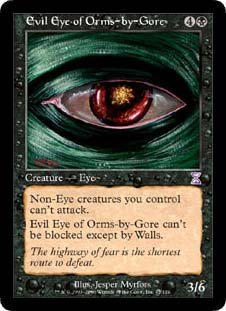 Evil Eye of Orms-by-Gore (Magic the Gathering : Time Spiral Timeshifted #42 R... (Time Spiral Timeshifted Magic)