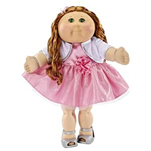 FAO Exclusive Cabbage Patch Doll 30th Anniversary 20 inch Collector Kid - Girl, Red Hair, Green Eyes by Jakks Pacific