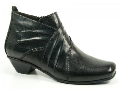 L185 Fidji Stiefelette Schuhe Damen Schwarz Boots Ankle gqZU1Yqw