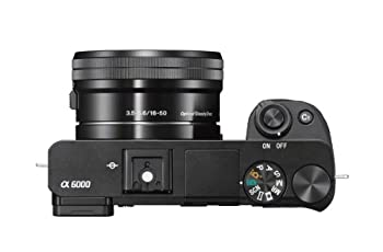 Sony Alpha A6000 Mirrorless Digitial Camera 24.3mp Slr Camera With 3.0-inch Lcd (Black) W16-50mm Power Zoom Lens 4