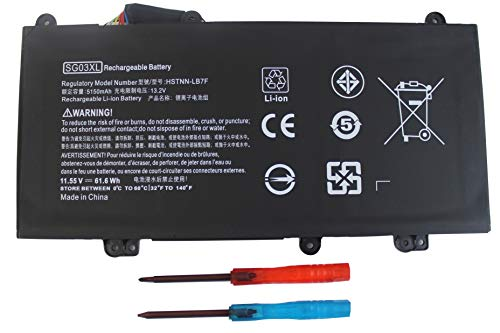 Gomarty SG03XL Laptop Battery Compatible for HP Envy M7 M7-U000 M7-U009DX M7-U109DX 17-U000 17t-U000 Series 17-U011NR 17-U163CL 17-U177CL 849314-850 849315-850 TPN-I126 HSTNN-LB7F HSTNN-LB7E w2k88ua (Best Price Hp Envy 17 Laptop)