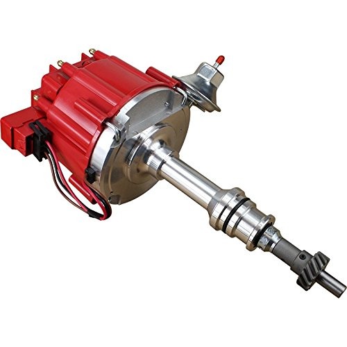 Dragon Fire High Performance Race Series Complete HEI Electronic Ignition Distributor Compatible Replacement For Ford 351C 351M 400 429 460 Cleveland Oem Fit - Tach Cobra Tachometer