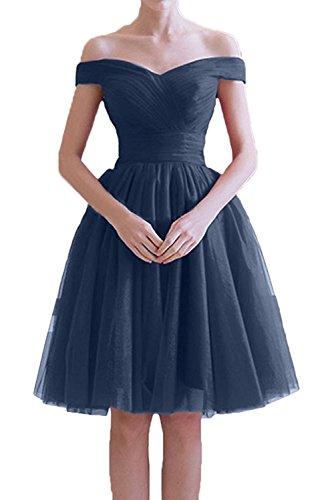 Brautmutterkleider Marie La Abendkleider Braut Festlichkleider Tuell Blau Rock Navy Linie Partykleider Rot Kurzes A 8ZdqwxrZS