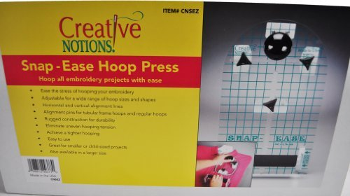 Sewing Snap Ease Hoop Press CNSEZ by Creative Notions