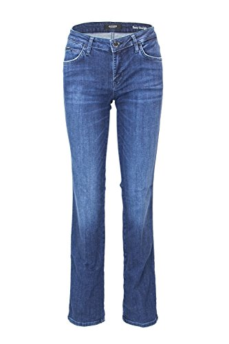 W83A15 JEANS Denim Scuro STRAIGHT SEXY DONNA D38P0 Blue Guess g64qxC4
