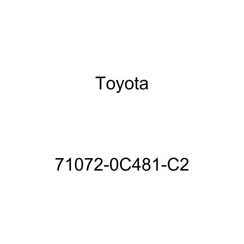 TOYOTA Genuine 71072-0C481-C2 Seat Cushion Cover