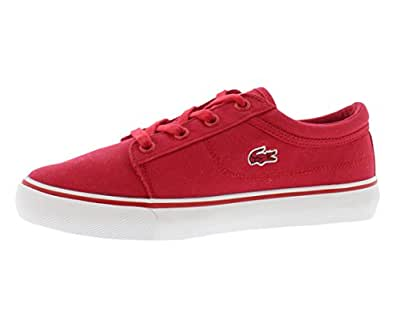Lacoste Red Fashion Sneakers For Boys - Size 12 US