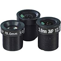 1/2.7  2.8mm,3.6mm & 8mm Lenses kits for CCTV Cameras Security Camera