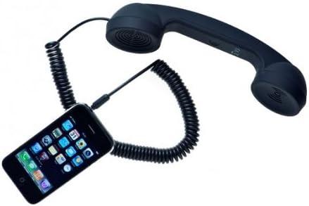 POP Phone - Retro Handset - Soft Touch Black: Amazon.de