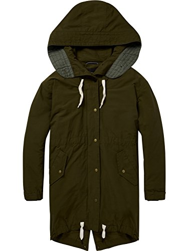 Soda military amp; Jacket Inner Parka 65 Scotch Mujer Green Verde With R5fwTqHnq