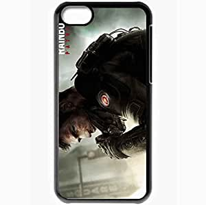 Personalized iPhone 5C Cell phone Case/Cover Skin Tom Clancy S Rainbow 6 Patriots Black