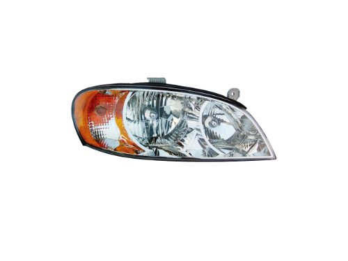 lacement for Kia Spectra Headlight Sedan OE Style Replacement Headlamp Passenger Side New ()
