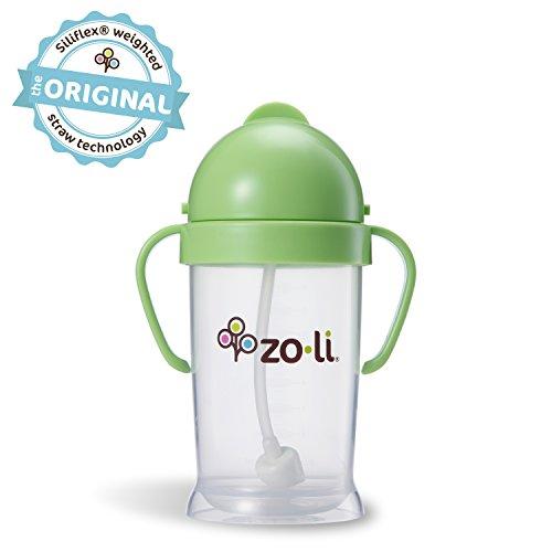 ZoLi BOT XL Straw Sippy Cup - Green 9 oz