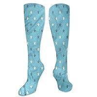 Pattern Socks,Socks For Girls,Women Casual,Socks Geometric Zigzag Star Pattern