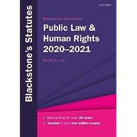 Blackstone's Statutes on Public Law & Human Rights 2020-2021