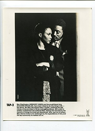 MOVIE PHOTO: Tap-Gregory Hines and Suzanne Douglas-B&W-Still