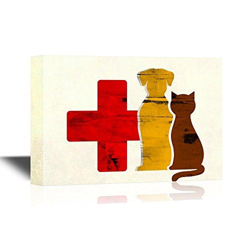 Vet Dog and Cat Vet Concept