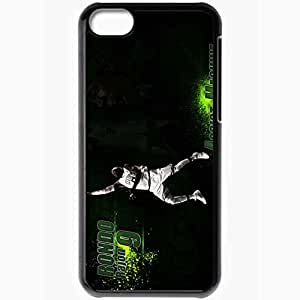 Personalized iPhone 5C Cell phone Case/Cover Skin 14836 rajon rondo wall by huanes d333yax Black