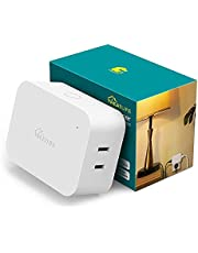 Dimmable Smart Plug, Treatlife Smart Dimmer Plug for Dimmable Lamps, Smart Home Devices that Compatible with Alexa, Google Assistant, Work with SmartThings, Sunrise Simulation, Sleep Aid