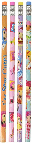 (Adorable Lalaloopsy Pencil Birthday Party Favours (12 Pack), Multi Color, 7)