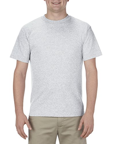 Alstyle Apparel AAA Men's Classic T-Shirt, Ash, X-Large -