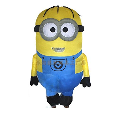 Costume Minion Uk Despicable Me (T-Rex Minions Despicable Me Inflatable Adult cosplay costume TRex Halloween Party)