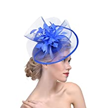 Womens Formal Party Fascinator Hat with Headband for Wedding Hats