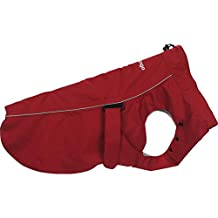 Red Dingo Perfect-Fit Rain Coat For Dogs - Red (Size 45)