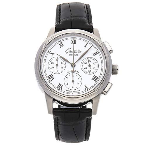 Glashutte Original Senator Mechanical (Automatic) White Dial Mens Watch 39-31-02-03-04 (Certified Pre-Owned)