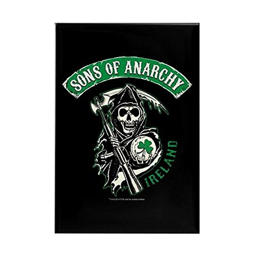 CafePress SOA Ireland Rectangle Magnet, 2