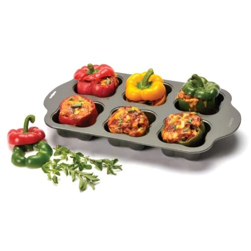 Norpro 1072 Nonstick Stuffed Veggie Baking Pan