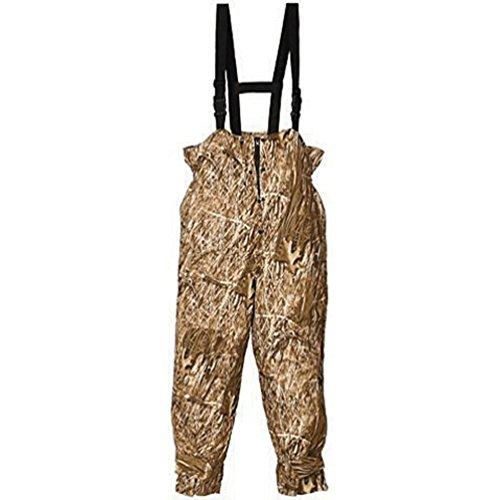 Camouflage Bib Overalls (Huntworth Men's Micro Fiber Lined Waterproof Camouflage Bib Overalls (Marshland Camo, Large))