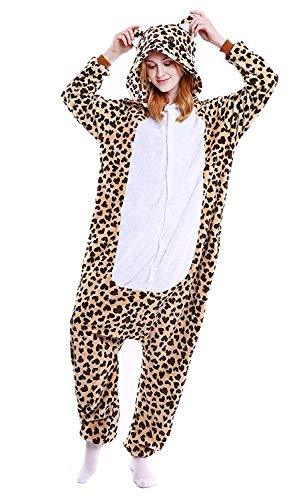 Orso Anime Halloween Pigiama Costume Cosplay Abyed® Kigurumi Attrezzatura Leopard w76xAO0