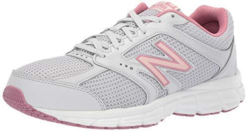 New Balance Women's 460v2 Cushioning Running Shoe, Summer Fog/Oyster Pink/Mineral Rose, 8 B US