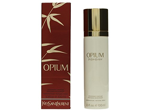 Opium By Yves Saint Laurent For Women. Deodorant Spray 3.4 Ounces