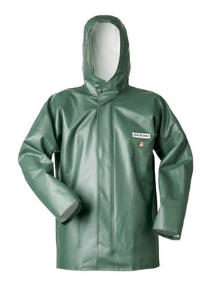 Ocean Classic Jacke - Ölzeugjacke aus PVC auf Baumwollträger. DAS Ölzeug für den Profi