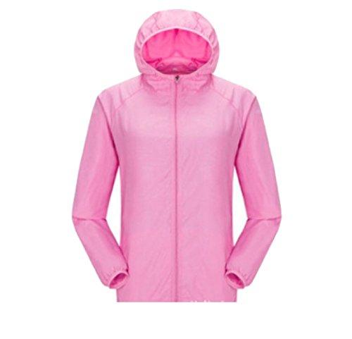 Crema Uomini Incappucciato Moda Di Sottile Rosa Cappotto Solare Puro Colore Againg Casuale Giacca q88ICwTr