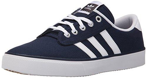 adidas Performance Mens Kiel Skate Shoes Collegiate Navy/White/Carbon Grey