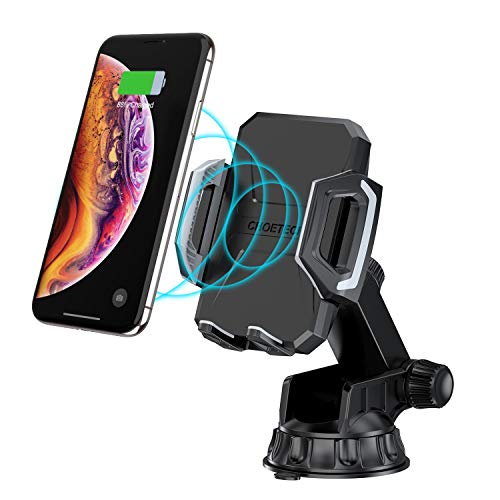 ab4671eccc6 CHOETECH Wireless Car Charger, Adjustable Fast Wireless Charger Car Mount  7.5W Compatible with iPhone