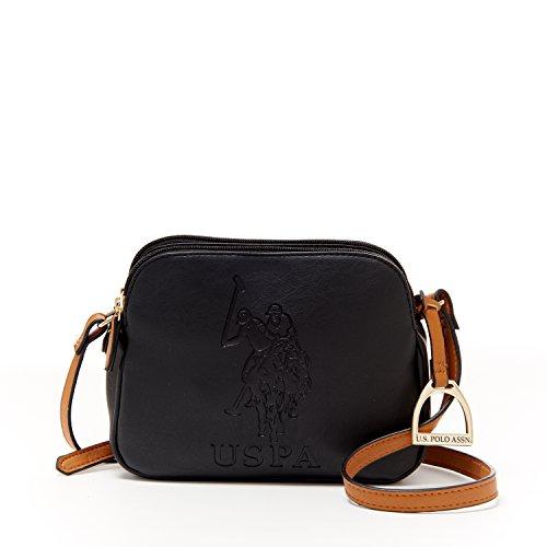 3ad309e8b3fb US Polo ASSN Designer Handbags  Women s Kingston Crossbody Bag (Black) -  (Multiple Color Available) - Buy Online in UAE.